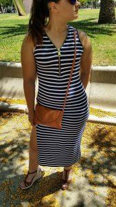 Rayas outfits casuales Tendencias NereMi para el verano